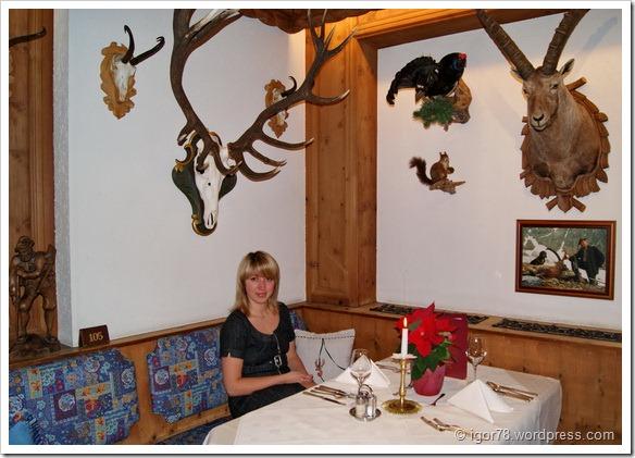 Австрия 2011. Hotel Fernau