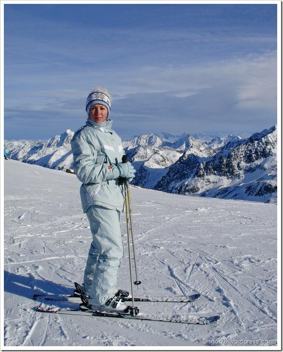 Австрия 2011. Stubaier Gletscher.