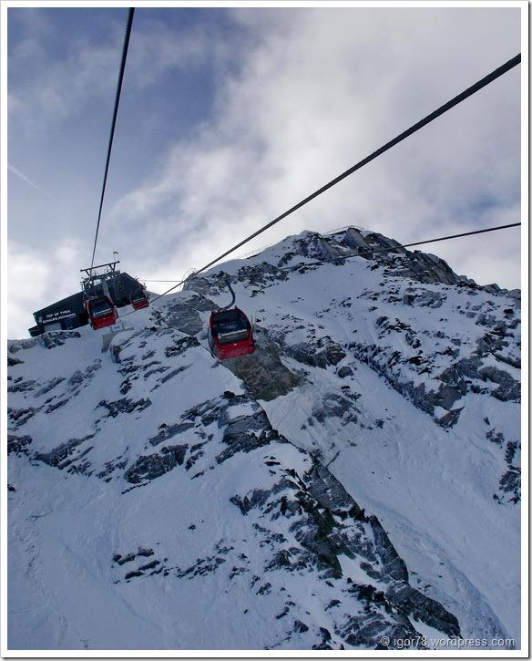 Австрия 2011. Stubaier Gletscher. Подъем на верхнюю точку ледника.