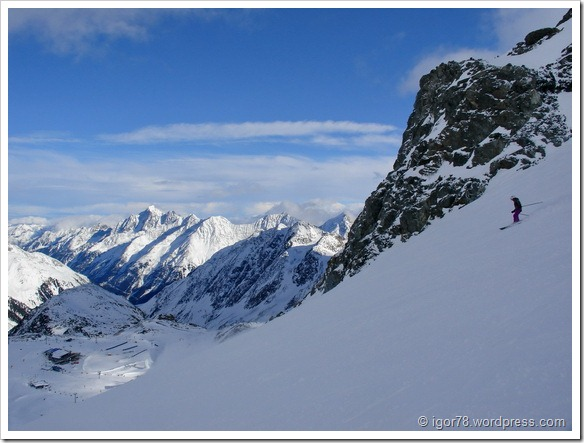 Австрия 2011. Stubaier Gletscher. bb