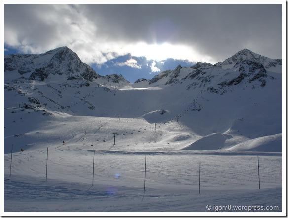 Австрия 2011. Stubaier Gletscher. Трасса №1b.