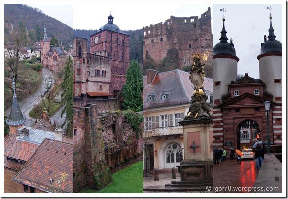 Австрия 2011. Один день в Гейдельберге (Heidelberg), Германия
