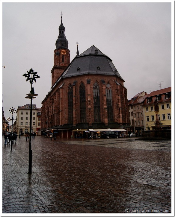 Церкось Святого Духа в Гейдельберге (Heidelberg)