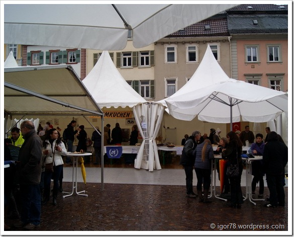 Ярмарка в Гейдельберге (Heidelberg)