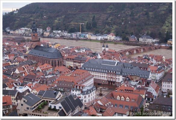 Старый город в Гейдельберге (Heidelberg)