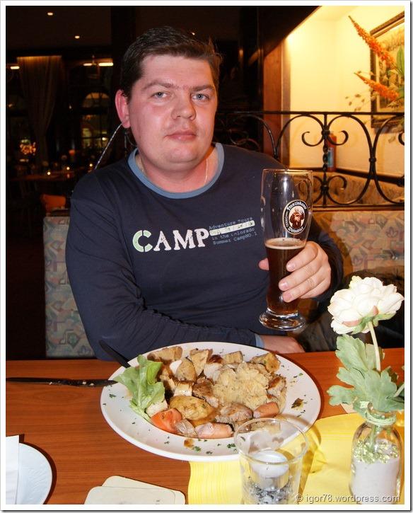 В ресторанчике Гейдельберга (Heidelberg)