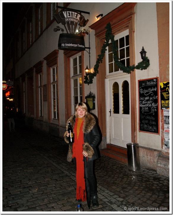 На входе в пивную Vetter, Гейдельберг (Heidelberg)