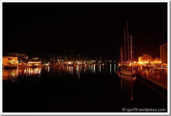 Хорватия 2010. Ночной Трогир.