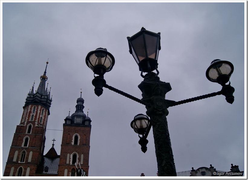 Польша 2012. Фонари Кракова