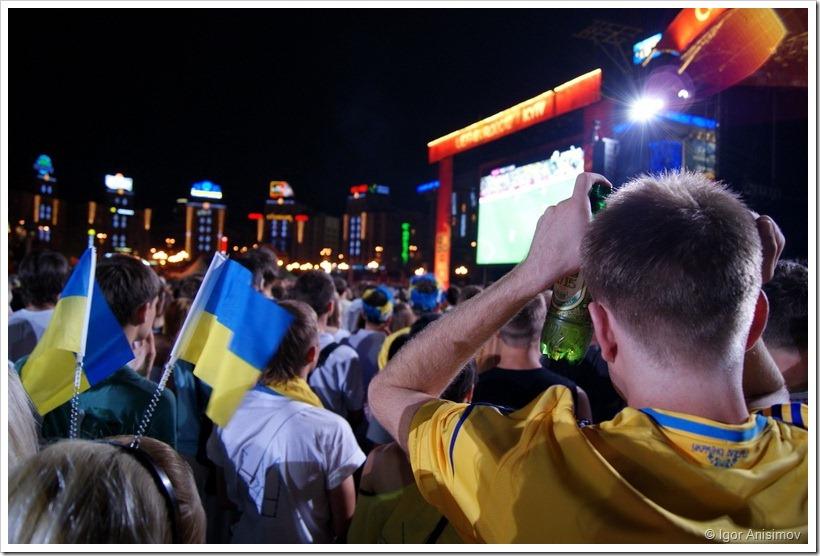 Киев 2012. Маленький кусочек Евро-2012