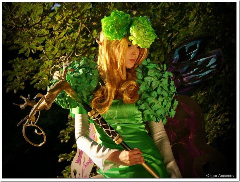 """Фотосессия 2012. Лесная фея """"Queen Elfaria"""""""