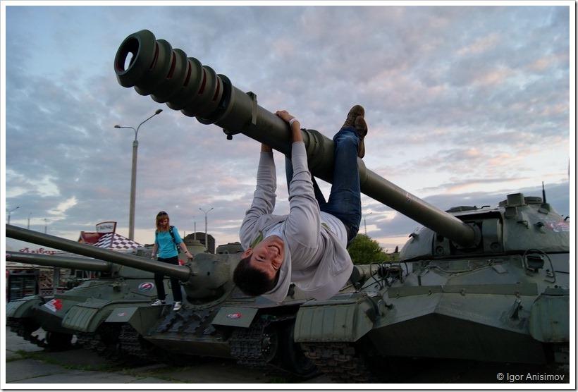 Минск 2012. Корпоратив WG на линии Сталина 2/2