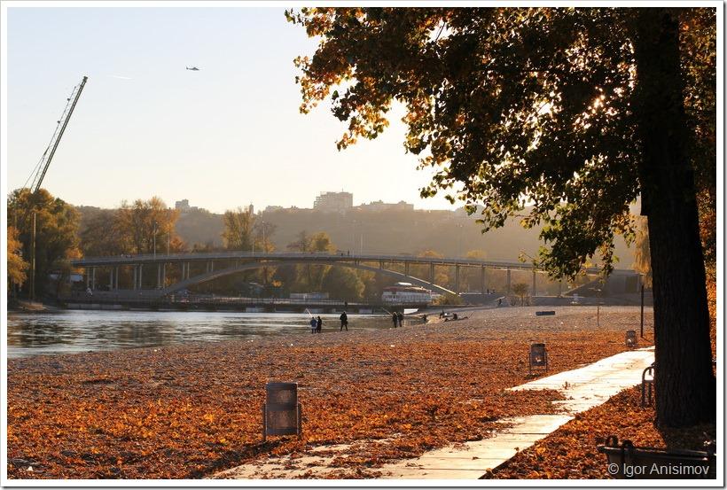 Киев 2013. Осенний день в гидропарке