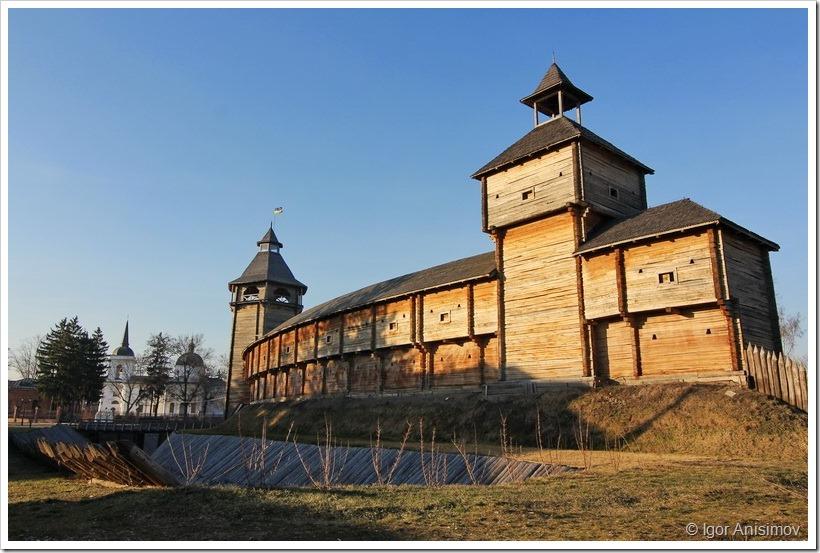 Украина 2014. Цитадель Батуринской крепости