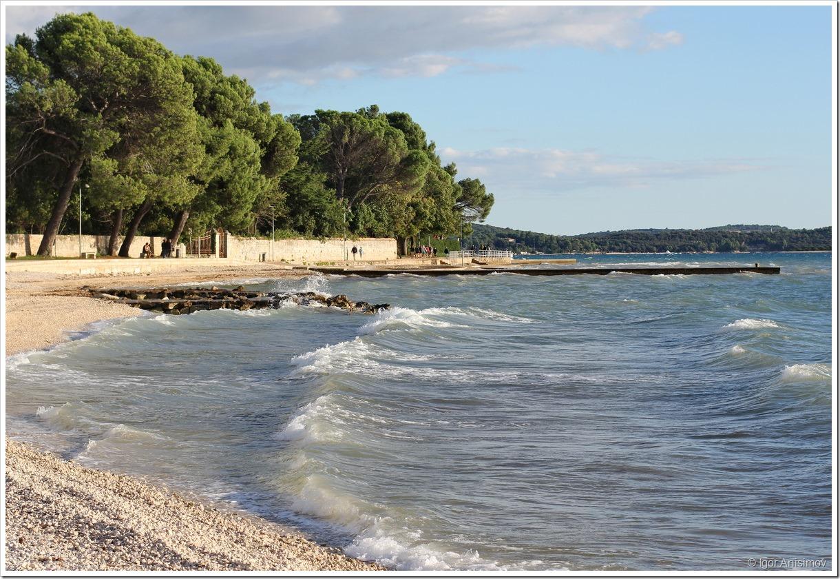 Хорватия 2014. Немного моря