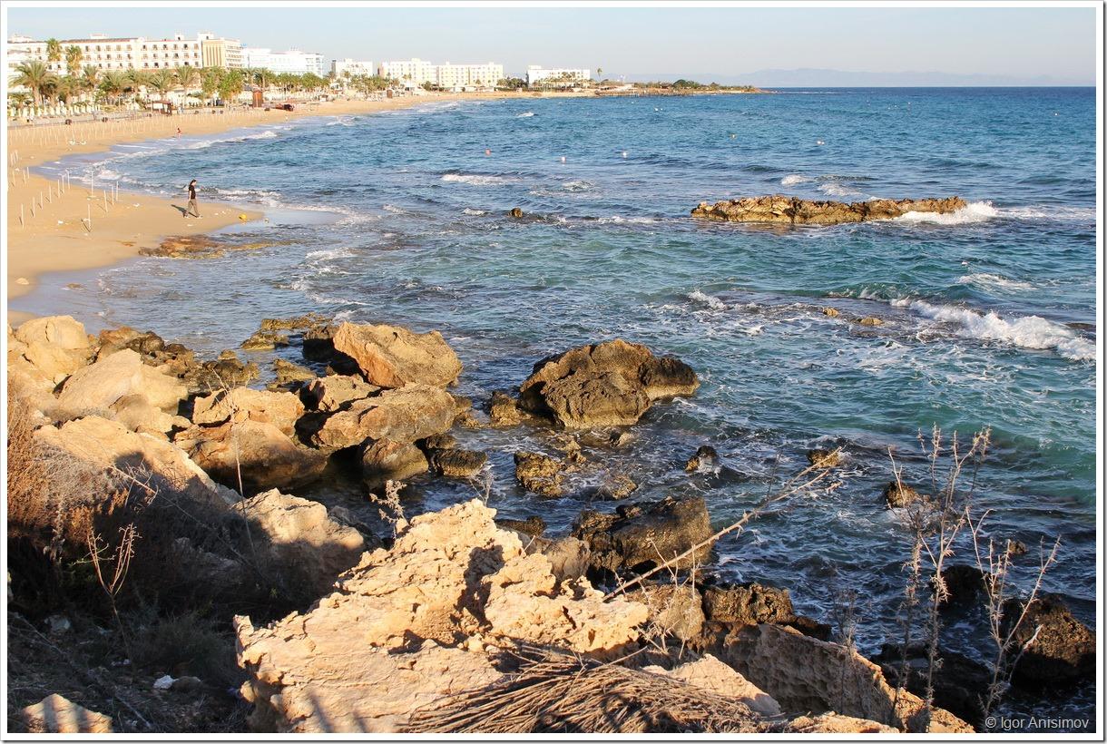 Кипр 2014. Немного моря в ноябре
