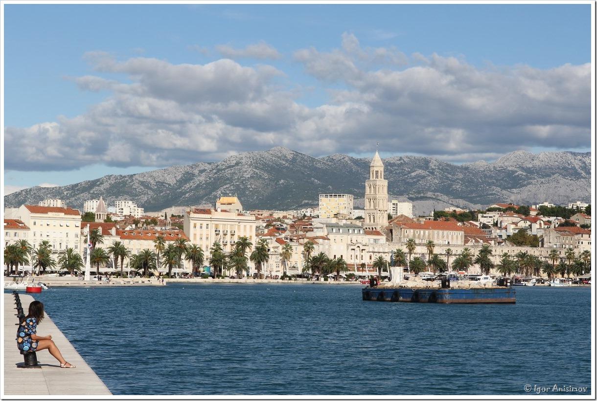 Хорватия 2015. День 8-9 дни – Трогир, Сплит