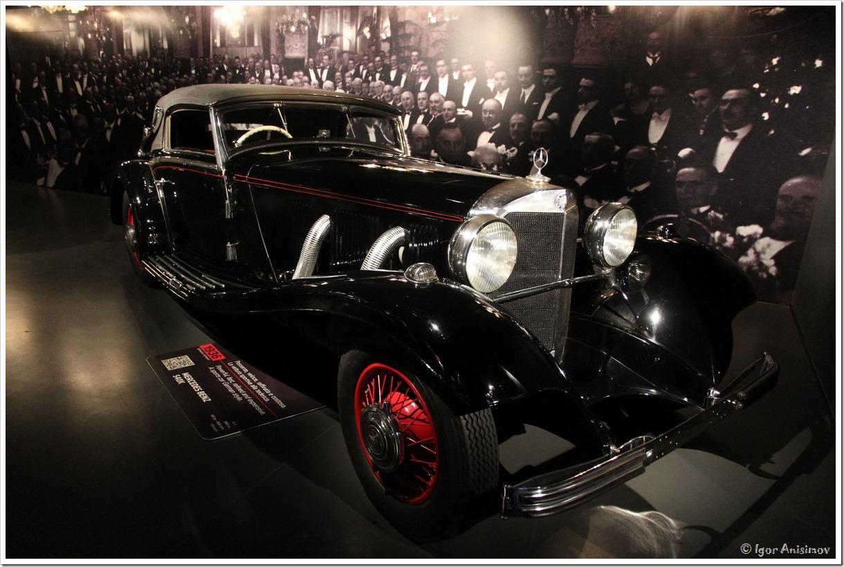 Италия 2016. Музей автомобилей в Турине, часть 1