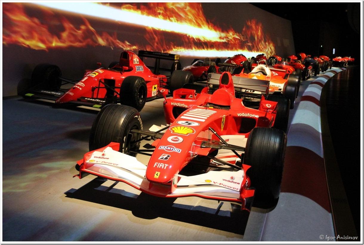 Италия 2016. Музей автомобилей в Турине, часть 2