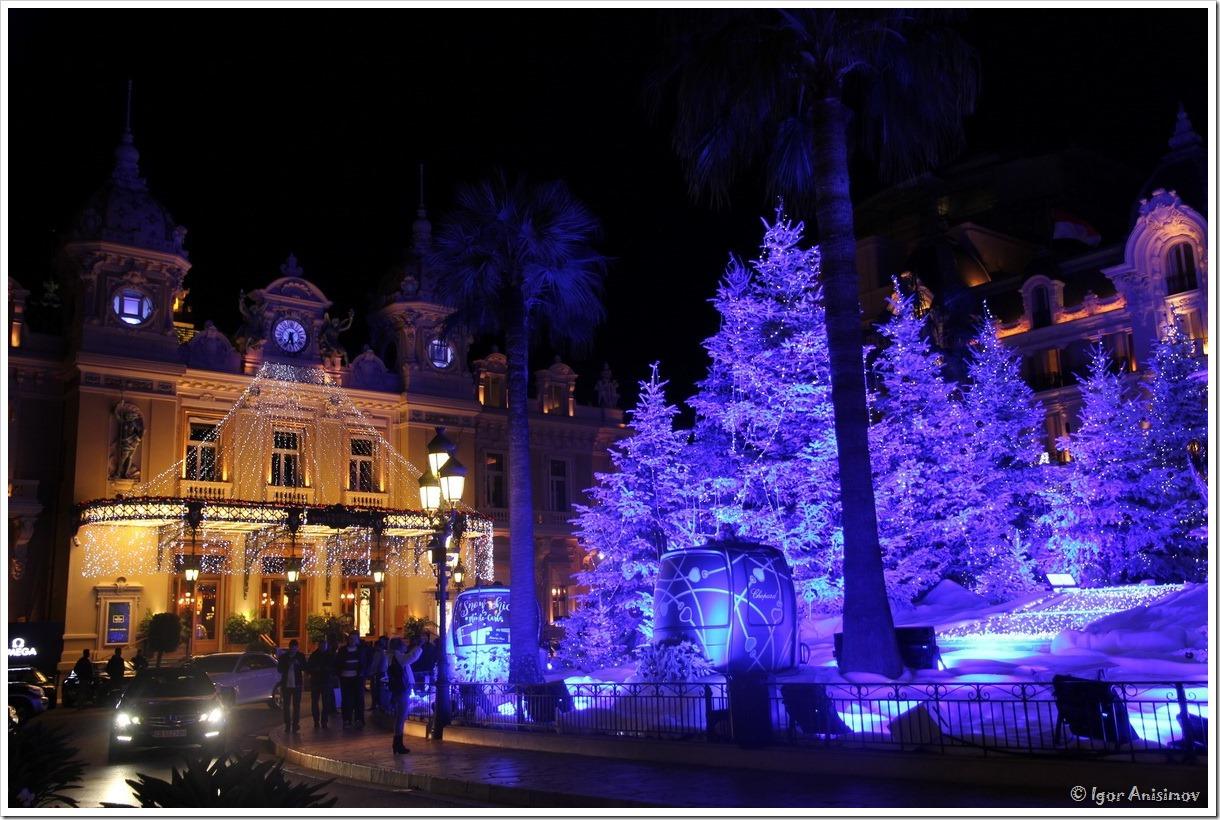 Монако 2016. Рождественский Монте-Карло